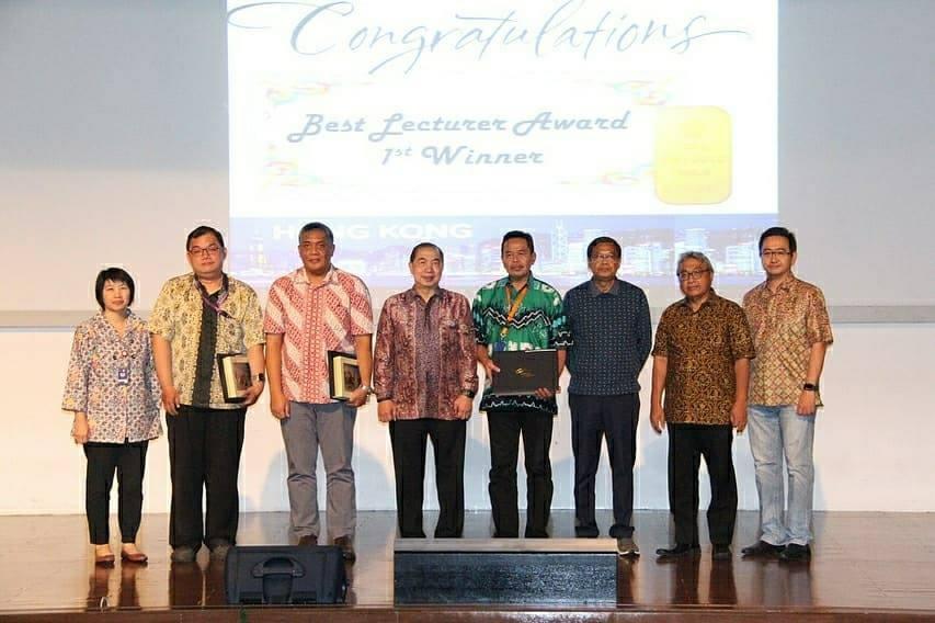 Best Lecturer Award Bapak Rudy Susanto, S.Kom., M.T.I.