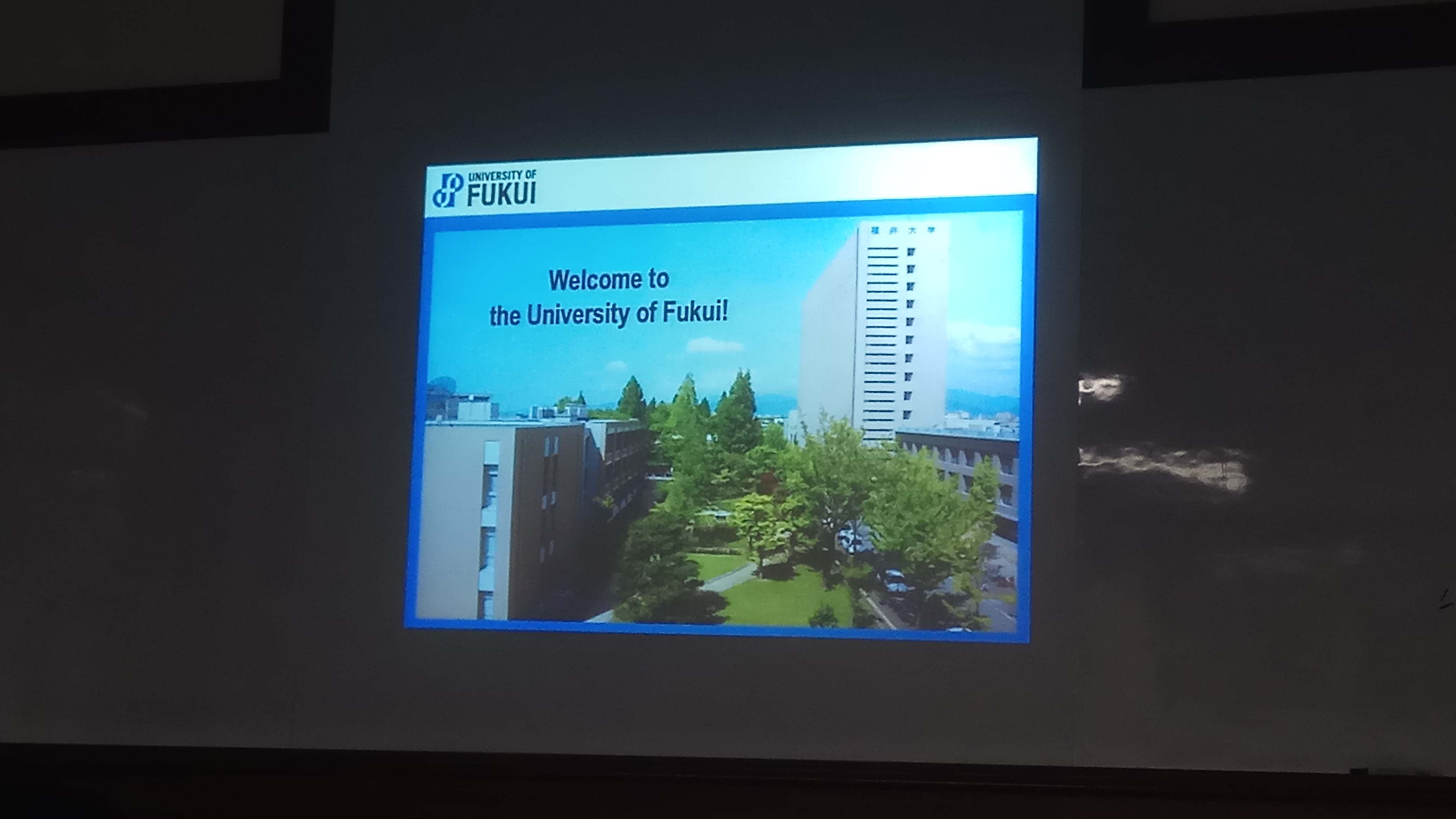 Guest Lecturer 22 Februari 2018 University of Fukui