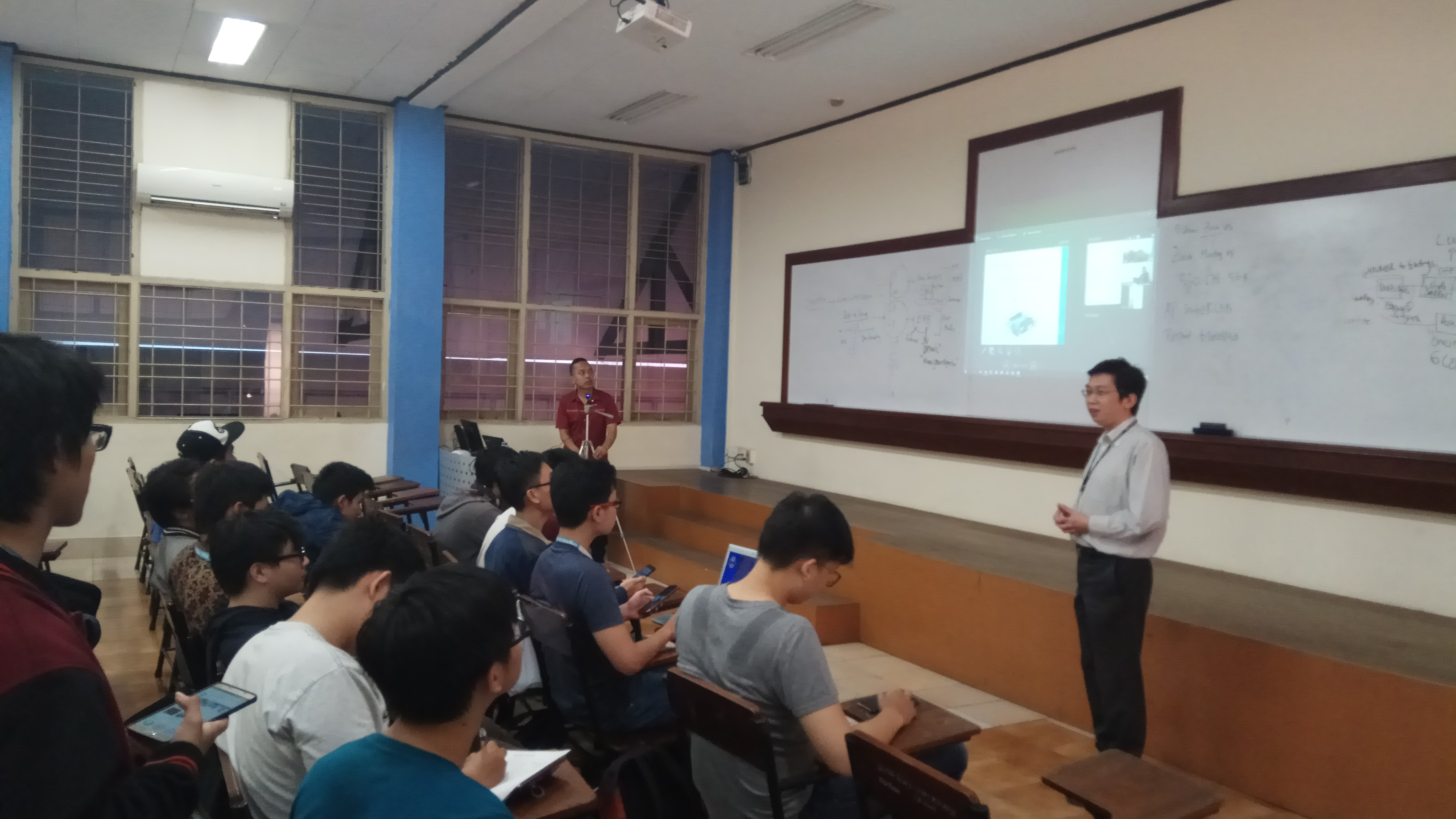 Online Video Guest Lecturer 5 April 2018 Universiti Malaysia Pahang
