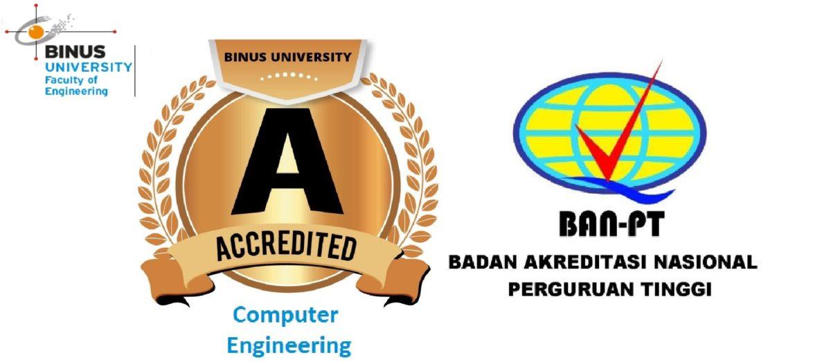 Jurusan Sistem Komputer (Computer Engineering) Binus University Kembali Meraih Akreditasi A pada BAN-PT