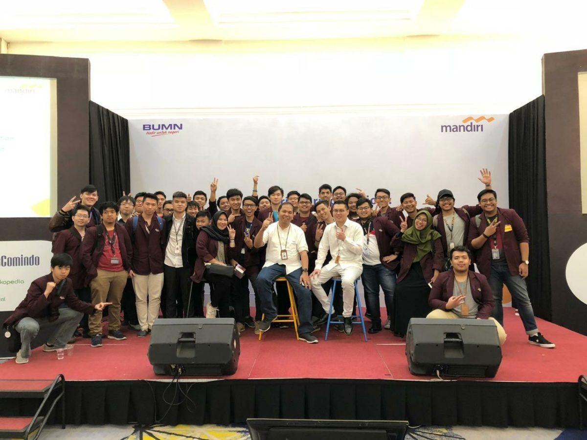 Kunjungan ke Menara Mandiri Jakarta