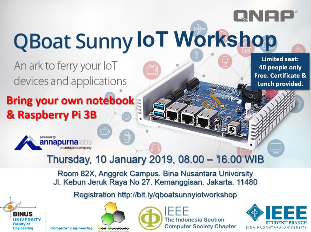 QBoat Sunny IoT Workshop