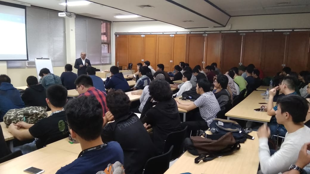 Guest Lecture 1, 7 Jan 2019, Topic : Design Application Using Microcontroller