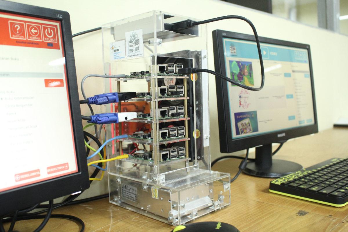 Digital Library, memberikan pengetahuan yang luas dengan akses jaringan lokal