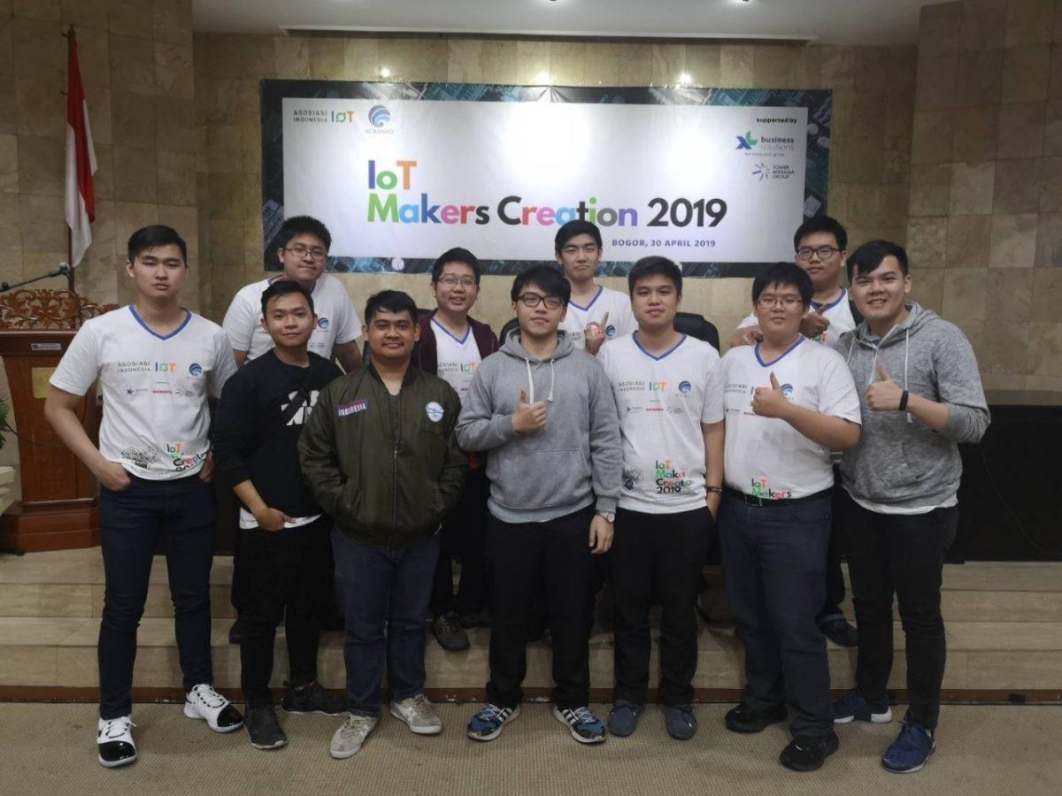 4 Tim Mahasiswa Computer Engineering Binus Mengikuti IoT Creator 2019