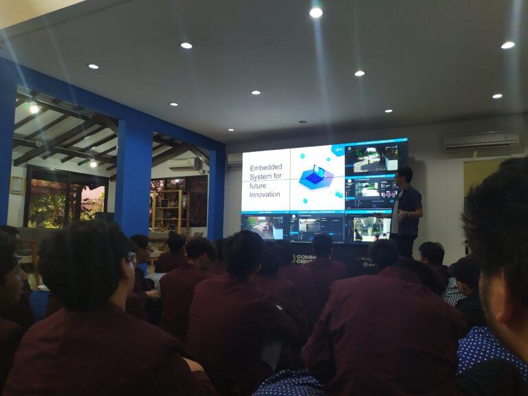 Kunjungan ke PT. Qlue Performa Indonesia
